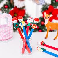 5支装款式随机发泰蜜熊圣诞儿童小礼品送学生平安夜创意圣诞老人礼物装饰装扮批�l圣诞笔
