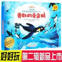 勇敢的帝企鹅 好好玩第二辑神奇生命立体书儿童3d翻翻立体书了解生命益智游戏幼儿专注力训练书3-6岁提高逻辑思维训练畅销