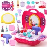 仿真儿童化妆品公主彩妆盒套装女童化妆盒宝宝专用女孩过家家玩具
