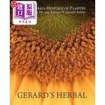 【中商海外直订】Gerard's Herbal: Selections from the 1633 Enlarged