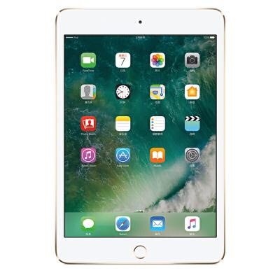 [当当自营] Apple iPad mini 4 平板电脑 7.9英寸(128G WLAN版/A8芯片 MK9Q2CH/A)金色可使用礼品卡支付 国行正品 全国联保