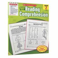 英文原版 Scholastic Success with Reading Comprehension Grade 2