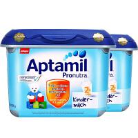 【2+安心罐】保税仓发货 德国Aptamil爱他美 德爱婴幼儿奶粉 2+段(2岁以上) 珍珠罐/安心罐 800g*2罐