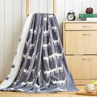 毛巾被棉纱布加单人双人儿童婴儿午睡毯夏凉被盖毯空调毛巾毯子