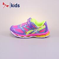【2件3折到手价:89.7元】红蜻蜓童鞋春秋款女童中童舒适透气慢跑鞋