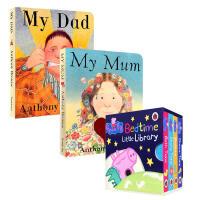 英文原版6册 Peppa Pig Bedtime Little Library粉红佩佩猪小妹佩奇 My Mum My