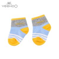 英氏男宝宝袜子短袜 儿童袜四季袜婴儿袜子173236