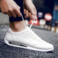 春季男士运动鞋韩版潮流 小白鞋 男英伦跑步鞋学生板鞋 男平底休闲潮鞋