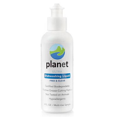 美国planet奶瓶清洗液清洁剂进口餐具奶瓶果蔬清洗剂洗洁精118ml