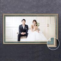 2018092720233097824寸婚纱照放大相框墙创意挂墙结婚照片墙水晶摆台制作大相片框36