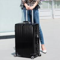 行礼拉箱手拉箱新款铝框行李箱20寸万向轮男拉杆箱女学生旅行箱子24寸复古登机密码箱皮箱