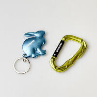 MUNKEES路客户外3D兔套装快挂开瓶器 颜色随机
