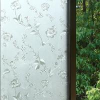 不透明玻璃贴膜 玻璃贴纸卫生间窗户遮光浴室厨房阳台隔热透光