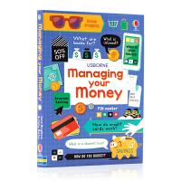 管理您的资金 MANAGING YOUR MONEY英文原版桥梁/漫画书 10-14岁中学生课外扩展阅读 工具书&词典