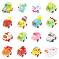 儿童惯性小汽车宝宝玩具车 女孩男孩2玩具回力1-3-6周岁