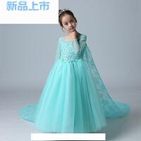 公主裙礼服女童主持人连衣裙童话安娜艾莎演出服
