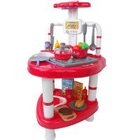 博娃 儿童仿真过家家玩具 女孩做饭煮饭厨具烹饪餐具厨房玩具套装 角色扮演