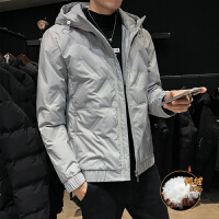 冬季男士羽绒服男韩版连帽羽绒衣 男潮短款修身轻薄羽绒服男外套