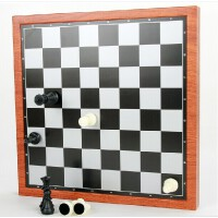 UB友邦磁性国际象棋跳棋西洋双陆棋3合1双面棋盘送礼精品