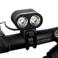 自行车灯户外夜骑防水充电式T6强光山地车车前灯 单车装备