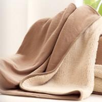 小毛毯加厚午睡毯办公室午休毯子儿童毯子学生毛毯盖腿毯盖膝盖毯 70x110cm