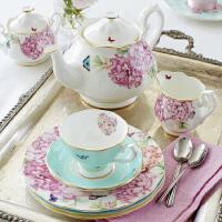 欧式骨瓷咖啡杯碟茶具套装复古红茶杯子
