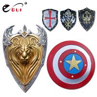 古罗马盾牌模型 酒吧网吧办公装饰 EGUI美国队长盾牌 儿童玩具武器
