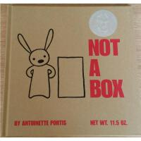 【全店300减100】Not a Box 不只是个箱子 精装 吴敏兰 英文原版童书 百本需读