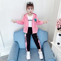 木木屋女童春装套装2021新款童装洋气女孩春儿童大童春夏装两件套