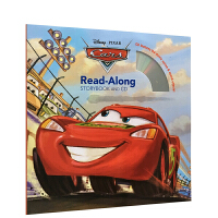 英文原版 迪士尼 Cars Read-Along Storybook and CD 汽车总动员