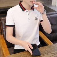 POLO短袖 2021夏季新款男款韩版潮流衬衫领POLO衫短袖 166男装51429