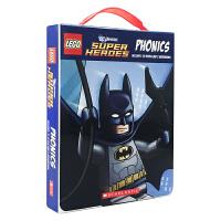 进口英文原版书 Lego DC Universe Super Heroes Phonics 乐高宇宙英雄12册 书籍绘