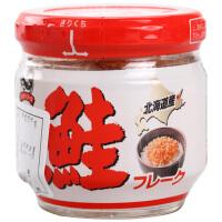 日本北海道happy foods知床产鲑鱼松 宝宝辅食儿童肉松拌饭料 50g