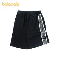 【3件5折价:50】巴拉巴拉裤子男童中裤儿童短裤运动裤夏装时尚中大童中裤