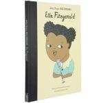 小小孩大梦想 英文原版 名人传记 Little People Big Dreams 艾拉・费兹杰拉 Ella Fitz