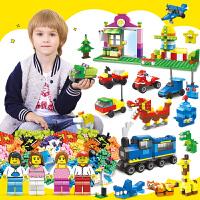 DIY小颗粒积木玩具3-6周岁男孩子街景系列拼装塑料