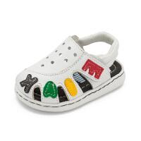 宝宝凉鞋 夏季男幼儿透气鞋子新款女童婴儿学步鞋