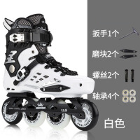 平花鞋溜冰鞋滑冰单直排轮滑鞋初学者男女抖音旱冰鞋