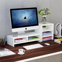 整理托盘支架子抬加高电脑显示器屏增高架底座桌面键盘置物架收纳 2+【组合装】