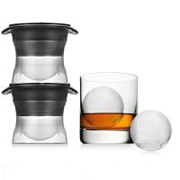创意硅胶冰格制冰盒威士忌冰块模具