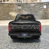 1:18福特 猛禽Raptor皮卡F150仿真汽车模型 树脂车模品质定制新品 黑色
