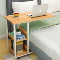 【下单立减50 到手价低至79.9】门扉 电脑桌 可移动床边桌笔记本电脑懒人桌书桌简约家用学生床上用卧室小桌子