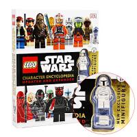 【现货】英文原版儿童书LEGO Star Wars Character Encyclopedia: Updated a