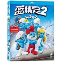 正版 蓝光碟蓝精灵2/蓝色小精灵2 1080P高清4K蓝光dvd电影碟片