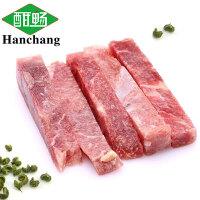 酣畅畅享 藤椒味牛柳200g*4包生鲜牛肉条方便菜小炒撸串