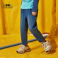 【春装上新:89.7元】小虎宝儿男童牛仔裤长裤2020春装新款儿童裤子潮童韩版洋气中大童