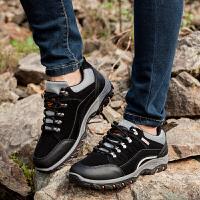 春季新款男士户外登山鞋透气男鞋子防滑耐磨徒步鞋旅游透气运动鞋