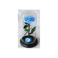 永生花礼盒礼物生日礼盒玻璃罩鲜花玫瑰花送女友老婆女朋友惊喜的创意节日礼品