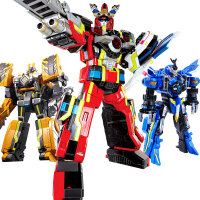 巨神战击队玩具3爆裂战机王机器人超救分队冲锋战机王变身器 官方正品 送
