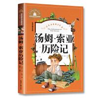 汤姆・索亚历险记 彩图注音版 小学生一二三年级6-7-8-9岁课外阅读书籍必读世界经典儿童文学少儿名著童话故事书